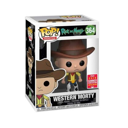Rick and Morty Funko POP! Vinyl #364 Western Morty SDCC Exc. Box