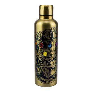 Marvel Avengers Endgame Infinity Gauntlet Metal Water Bottle
