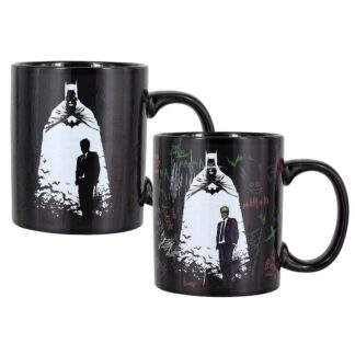 batman joker heat change mug