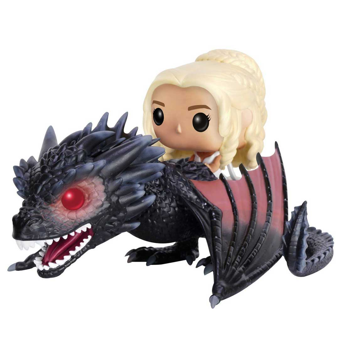 Game Of Thrones Funko Pop Rides 15 Daenerys On Drogon Geekvault