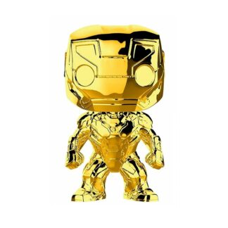 gold iron man pop geek vault