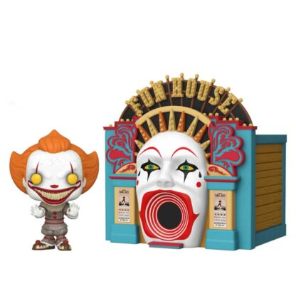 demonic pennywise with funhouse