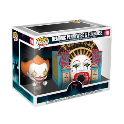 demonic pennywise with funhouse pop box