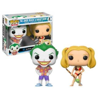 Joker & Harley Beach 2 pack pop
