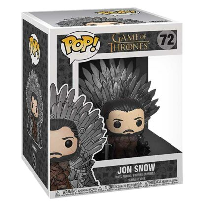 geek vault jon snow on throne pop box