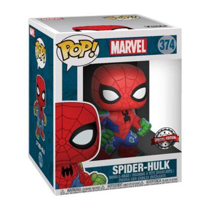 geek vault spider hulk pop box