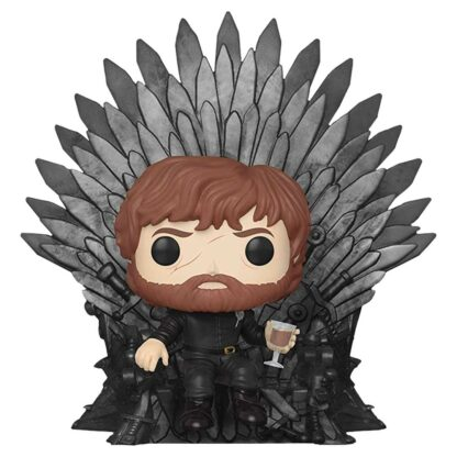 tyrion lannister on iron throne