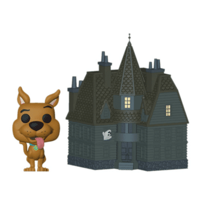 scooby-doo & haunted mansion pop town