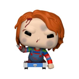 chucky on cart POP