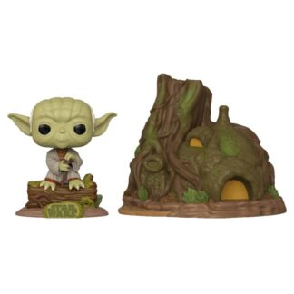 Dagobah Yoda with hut POP