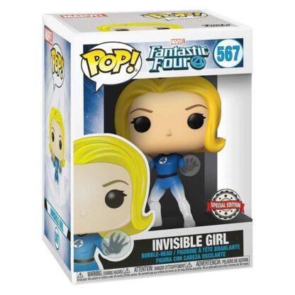 Fantastic Four Invisible Woman Funko POP! #587 Boxed