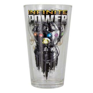 Avengers Infinity War Infinite Power Glass