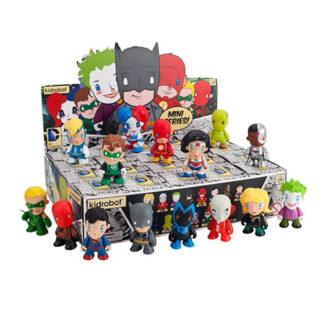 Kidrobot DC Universe 3' Mini Series Vinyl Figure Blind Box Set