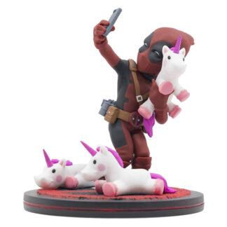 Quantum Mechanix Deadpool #unicornselfie Q-Fig Diorama