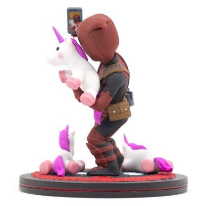 Quantum Mechanix Deadpool #unicornselfie Q-Fig Diorama Angle 2