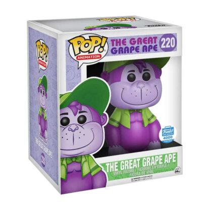 Funko POP! Animation The Great Grape Ape Exclusive 6-Inch Vinyl Figure #220 Boxed