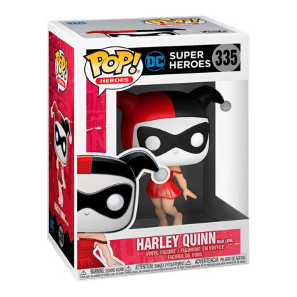 Funko POP! Heroes: DC Super Heroes #335 - Harley Quinn [Mad Love] Boxed