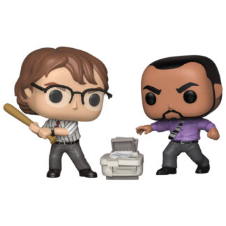 OFFICE SPACE - SAMIR & MICHAEL BOLTON FUNKO POP! VINYL 2-PACK ECCC 2019 EXC