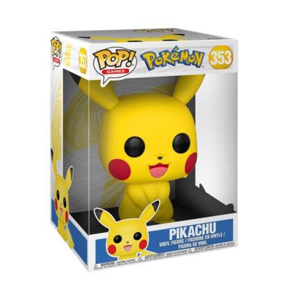 Pokémon: 10 Inch Pop! Vinyl Figure: Pikachu Boxed