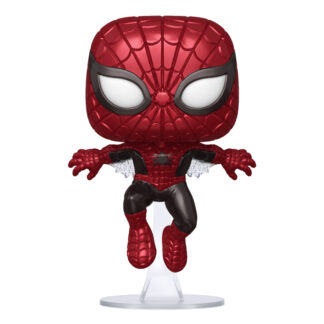 FUNKO POP! MARVEL - 80TH ANNIVERSARY #593 FIRST APPEARANCE SPIDER-MAN (METALLIC)