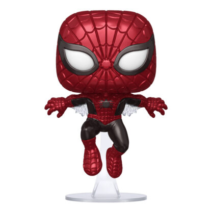FUNKO POP! MARVEL - 80TH ANNIVERSARY #593 FIRST APPEARANCE SPIDER-MAN (METALLIC)