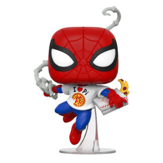 Marvel Spider Man With Pizza Funko POP Vinyl Figure
