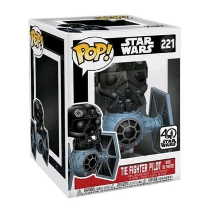 Star Wars Funko POP! Rides#221Tie Fighter Pilot with Tie Fighter Boxed