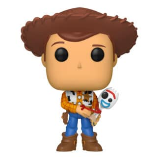 Funko Pop! Disney Pixar: Toy Story 4 - Woody and Forky (UK Exclusive)