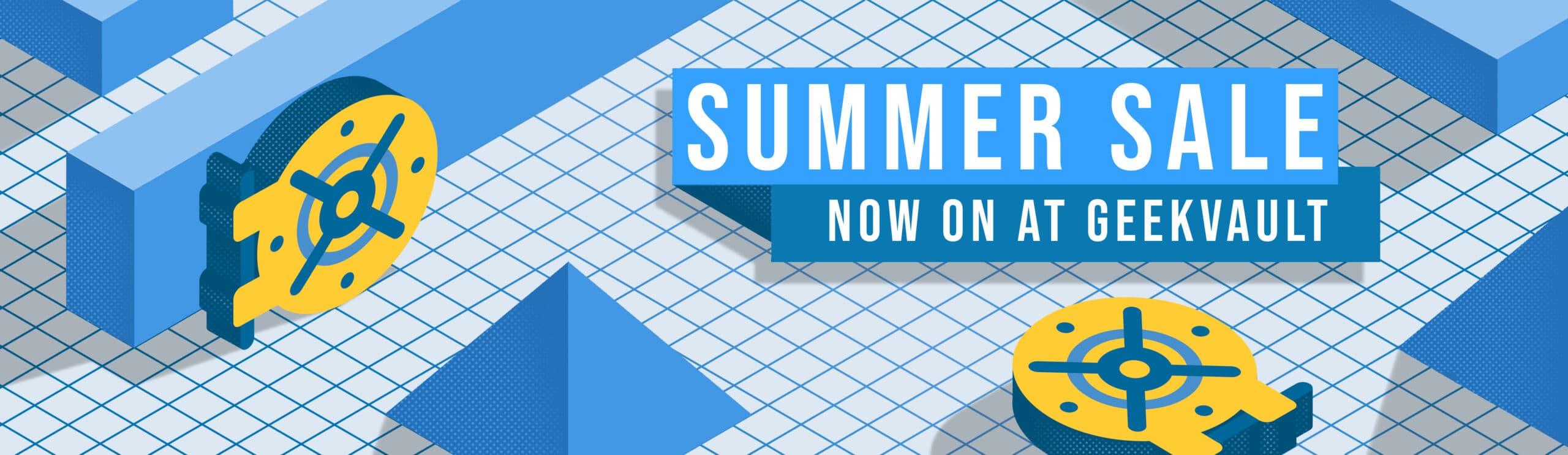 Summer Sale GeekVault Banner