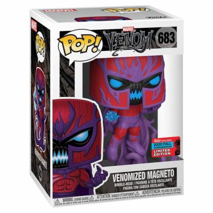 Marvel Venom Funko POP! Vinyl #683 Venomized Magneto NYCC'20 Exc. Boxed