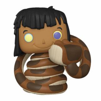 mowgli with kaa pop