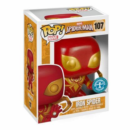 Marvel Funko POP! Vinyl #107Spider-ManIron Spider Boxed
