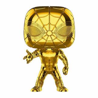Marvel: 10th Anniversary Funko POP! Vinyl #440 Spider-ManIron Spider (Gold Chrome)